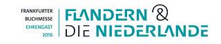 Logo der Ehrengäste Niederlande & Flandern bei der Frankfurter Buchmesse 2016.