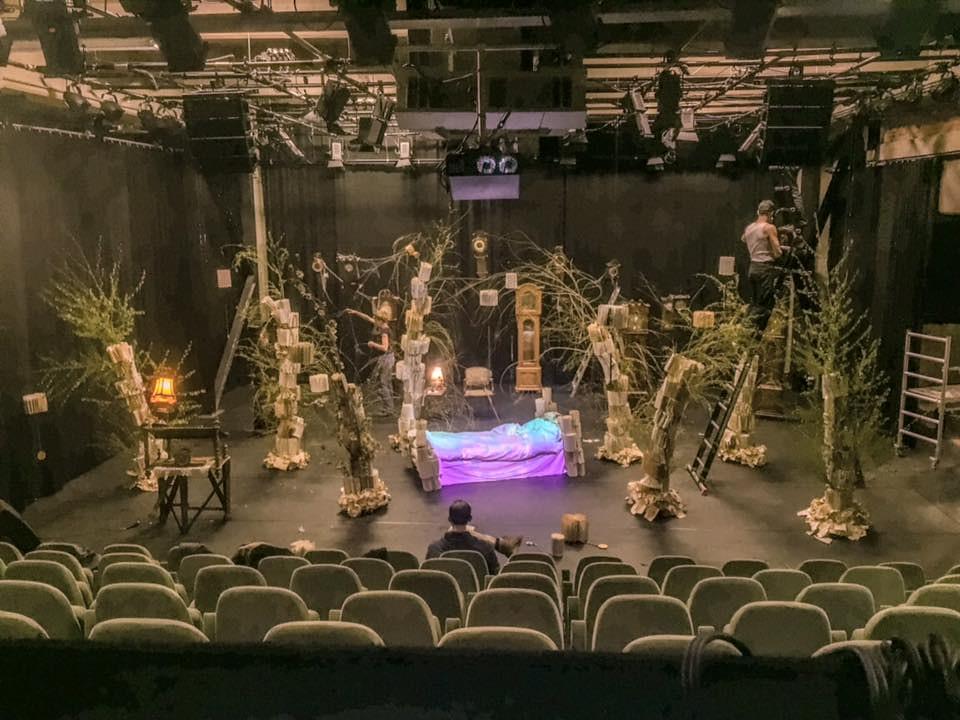 A Dream Within A Dream Nightscapes Theatre Sceneries