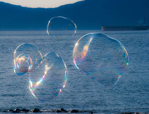 Bubbles on the Beach