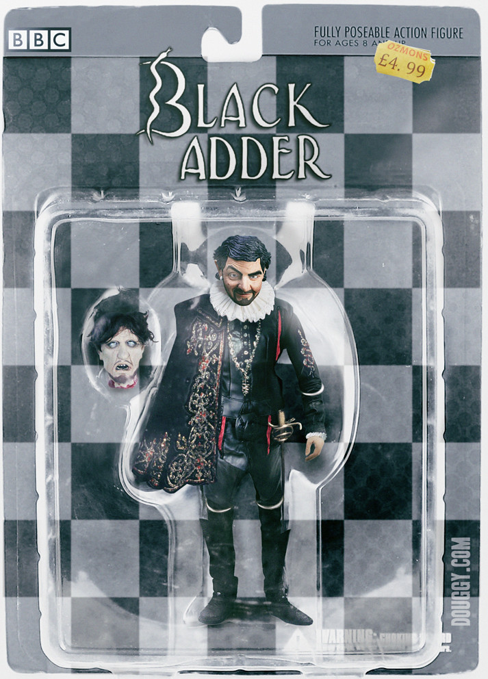 Amazing action figure concepts by Douggy - Blackadder Edmund Blackadder