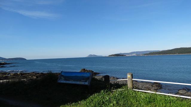 Miradoiro de Punta Cabalo en Porto do Son
