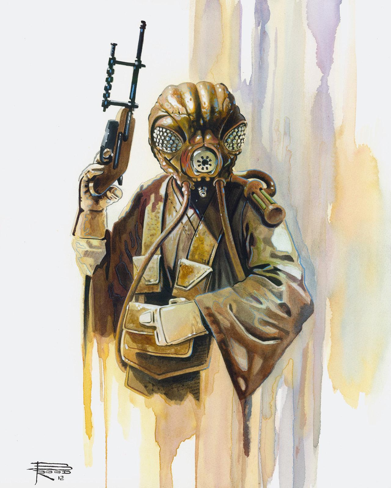 Star Wars Zuckuss by Brian Rood