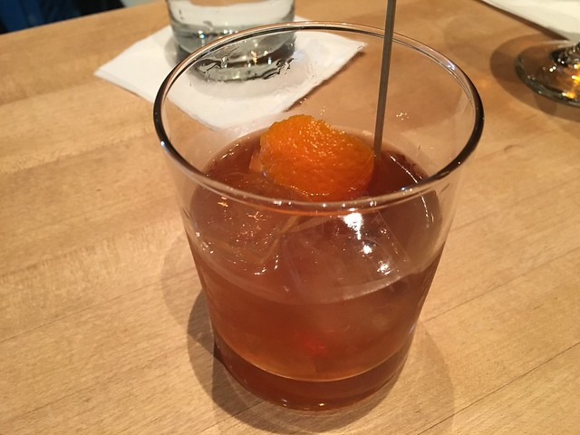 Tacoma Fashioned cocktail - Trove