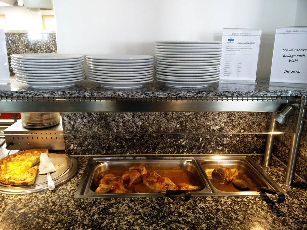 Schweinshaxe and Chicken
