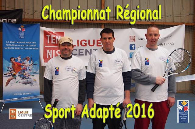 6ème championnat régional tennis sport adapté (9 avril 2016)