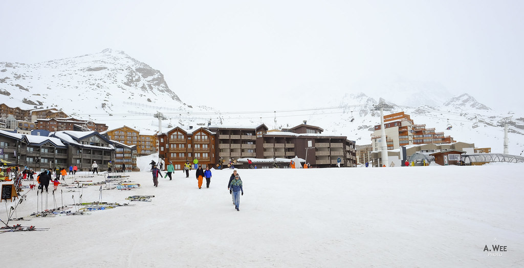 Village of Val Thorens