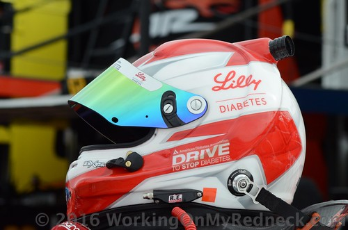 Ryan Reed's helmet