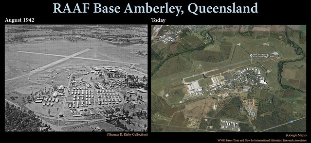 RAAF Base Amberley: Then and Now