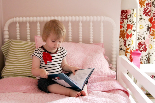 Eleanor, Reading in Her Room | by Nicole Balch