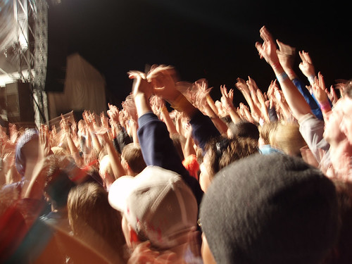concert crowd blur | by Creativity103