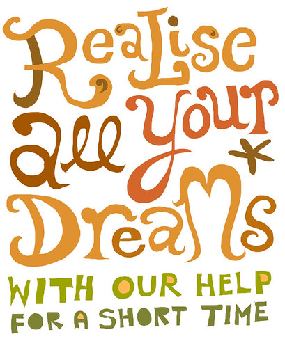 realise all your dreams spam | by Linzie Hunter