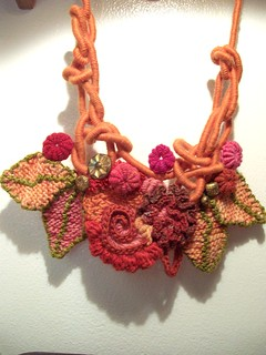 autumn fairy necklace | by janrocrochet