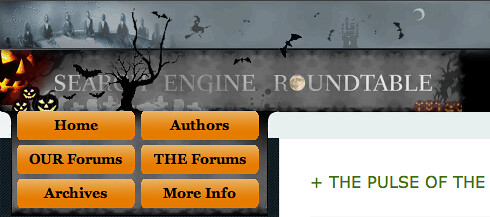 Halloween at Search Engine Roundtable | by rustybrick