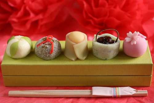 Wagashi for the Japanese Doll Festival (Hina-matsuri) | by Miki Nagata (bananagranola)