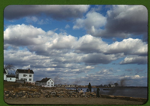 Connecticut town on the sea, probably Stonington  (LOC) | by The Library of Congress