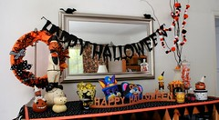 Halloween Display | by The Felt Mouse