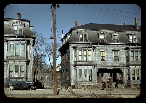 Children in the tenement district, Brockton, Mass.  (LOC) | by The Library of Congress