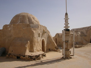 Tatooine Star Wars set in Tunisian desert | by rougetete