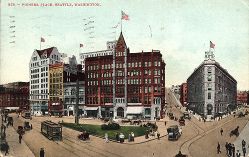 Pioneer Square, circa 1905 | by Seattle Municipal Archives