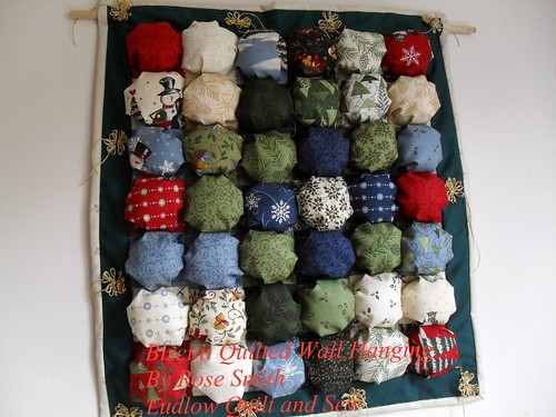 Biscuit Quilted Wall Hanging | by ludlowquiltandsew