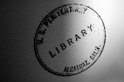 Alcatraz Library Stamp | by teachandlearn