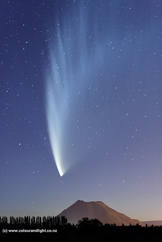 Comet McNaught over Putauaki | by Colour & Light