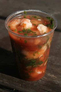 Ceviche de camarones from the Ochoa stall, Red Hook Ball Fields, Brooklyn | by Eating In Translation