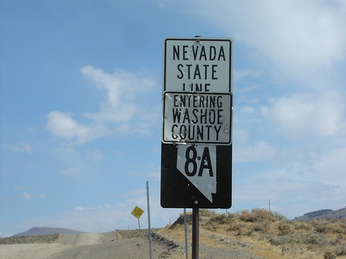 NV-8A East - Nevada State Line | by sagebrushgis