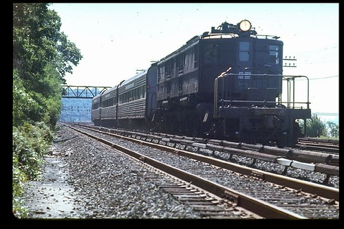 Penn Central P-Motor at Riverdale | by brooklynparrot