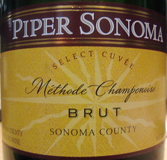Piper Sonoma NV (front) | by 2 Guys Uncorked