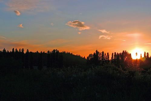 Sunset in Redmond WA