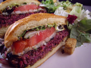 Northstar Cafe Veggie Burger | by swampkitty