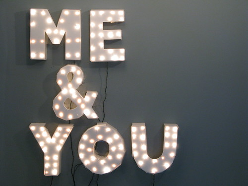 Me & You Show Sign | by marchorowitz
