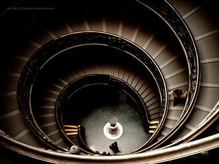 Vatican Museums Spiral Staircases | by Christopher Chan