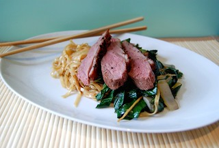 Szechuan Duck with Noodles & Pak Choi | by my_amii