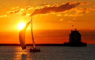Lorain sunset | by ronnie44052