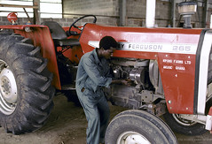 Fixing farming machinery | by World Bank Photo Collection