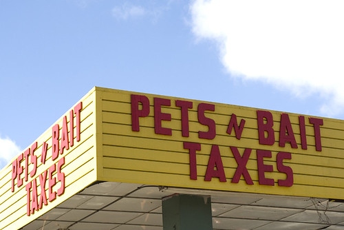 pets, bait, taxes | by romanlily