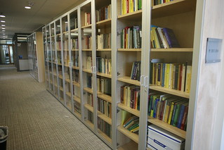 Lots of book cases | by Robert Scoble