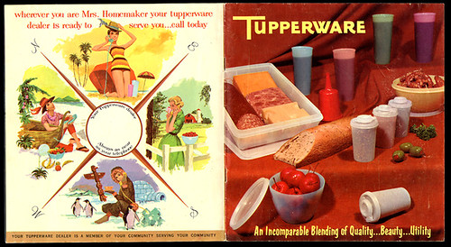 60s tupperware catalogue | by rachel is coconut&lime