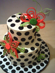 Polka Dot cake | by Tuff Cookie cakes by Sylvia