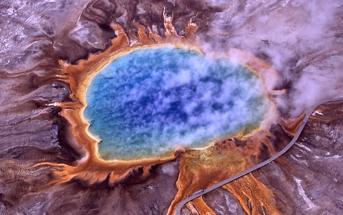 Grand Prismatic Spring - Yellowstone National Park, Wyoming | by Trodel