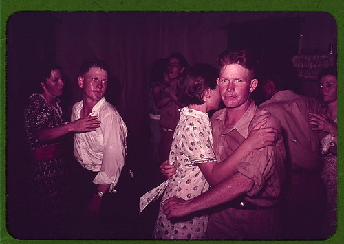 Couples at square dance, McIntosh County, Oklahoma  (LOC) | by The Library of Congress