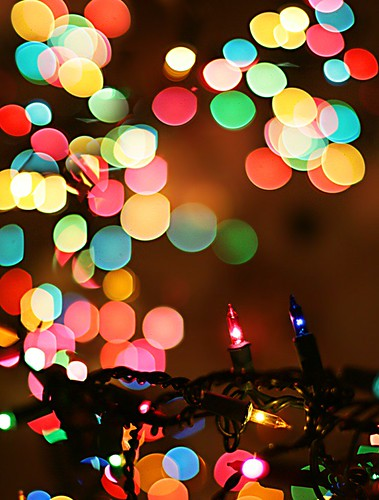 Christmas Bokeh | by * andrea .