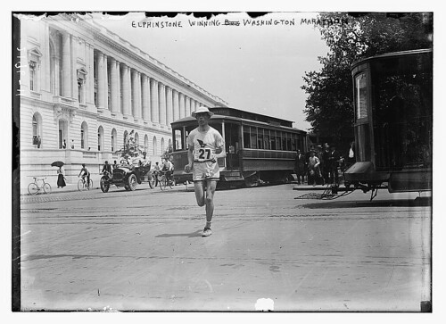 Elphinstone Winning Washington marathon  (LOC) | by The Library of Congress