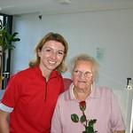 Senioren, (c) Wolfgang: Gaby Schaunig im Seniorenheim