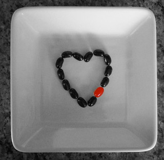 Black Jelly Bean Heart | by kimncris
