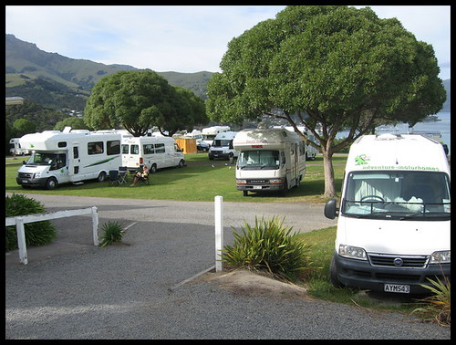 The massed camper vans of New Zealand | by ajft
