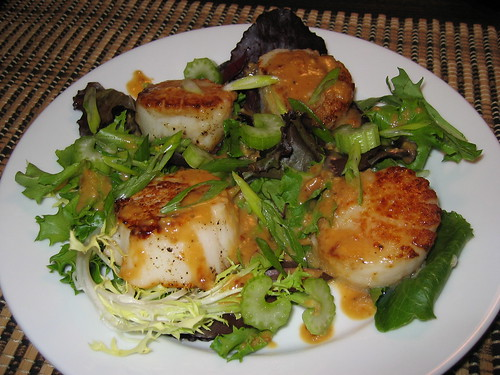 Sauted Scallops in Miso Sauce | by Kevin - Closet Cooking