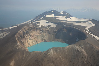 Helicopter ride: vulcano & lake | by Helen Flamme